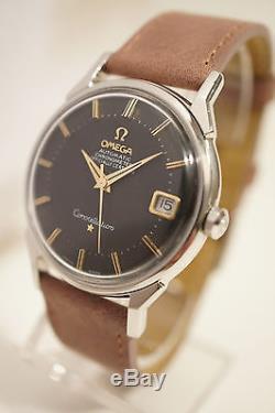 Omega Constellation Acier, Automatique, Date, Certifie Chronometre, 1968