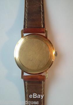 OMEGA Deville Montre homme OR JAUNE Automatique années 1970 Pds 39,2 gr