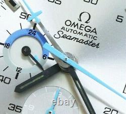 OMEGA Seamaster Chronographe 176.001 Cal. 1040 Automatique Vintage Montre 601ms