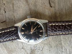 OMEGA Seamaster automatique Cal. 552, case 34,5 mm 1960 tropical black dial / or
