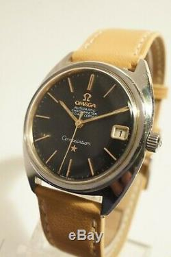 Omega Constellation Acier Automatique, Date, Certifie Chronometre, 1961