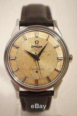 Omega Constellation Pie-pan Acier Automatique, Certifie Chronometre, 1963