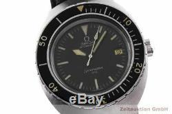 Omega Seamaster 200m Diver Acier Automatique Montre Hommes 166.091 Vintage Rare