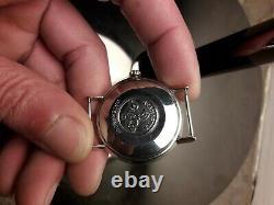 Omega Seamaster Deville rose 18k gp vintage montre automatique