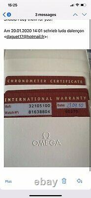 Omega Speedmaster Ref. 3210.51 Chronographe Date Automatique Montre Hommes