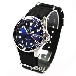 Orient Ray II Deep Blue Montre Hommes Automatique de plongée nouveau modèle
