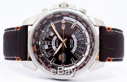 Orient automatique Multi année calendrier World Time EU0B004T montre homme