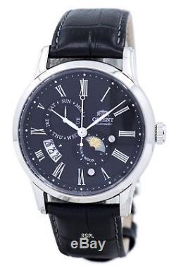 Orienter le soleil & lune automatique Japon fait SAK00004B montre homme