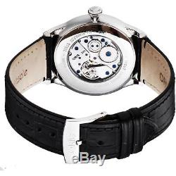 Oris Artelier Homme 40mm Automatique Noir Cuir Bracelet Montre 39675804054ls