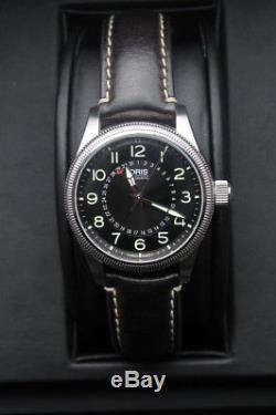 Oris Big Crown Pointer Date 40 mm noire, automatique, année 2013, acier, homme