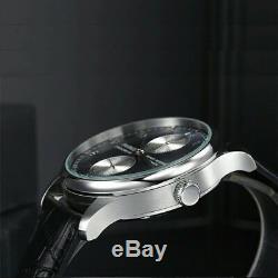 Parnis Montre classique automatique pour homme avec 44 mm en acier inoxydable