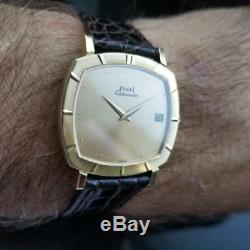 Piaget Homme 18K or Massif Automatique Montre W / Date ref. 12412 c. Années 1960