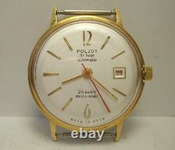Poljot de Luxe Automatique Poignet Montre 29 Jewels Calendrier Urss Hommes Gift