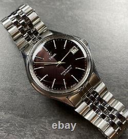 Rare Montre Ancienne Vintage Watch Yema Automatique FE 5611 Sous Marine