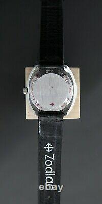 Rare Montre Vintage Zodiac SST 36000 Mouvement automatique suisse
