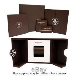 Raymond Weil Homme 42mm Bracelet Caoutchouc Automatique Montre 2760-TR1-20001