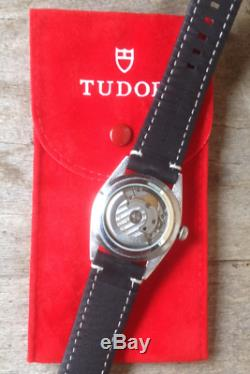 Rolex Tudor Monarch automatique black dragon, datejust 5500 case 35 mm, 2824-2