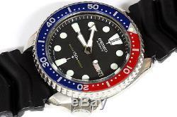Superbe Montre Seiko Diver Pepsi Automatique 6309-729a