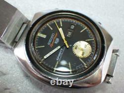 Seiko 5 Sports 6139-8000 Speedtimer Vintage Chronographe Ss Automatique Montre