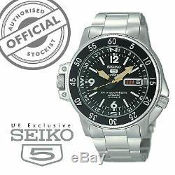 Seiko 5 Sports Automatique Pays Shark Atlas Montre Homme SKZ211K1