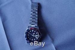 Seiko Diver's 10Bar 7s26-0040 pepsi Automatique Jour/Date Hommes