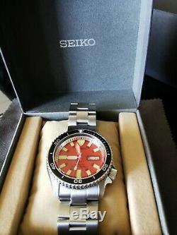 Seiko Diver's Skx007k mod Montre-bracelet automatique mouvement 7S26
