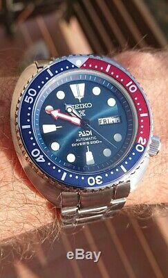 Seiko Prospex Diver's 200m PADI Lunette Pepsi Automatique NH36-336LT / NRP 779