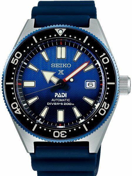 Seiko Prospex Montre Plongée Padi Automatique Avec Cadran Bracelet Sbdc0553