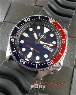 Seiko SKX009K1 Japan montre de plongée 200M Automatique. Caoutchouc bracelet