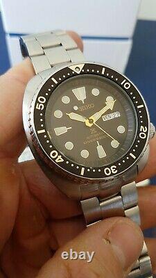 Seiko Turtle Srp775 Diver 200 M Homme Plongee 4r36 Automatique Montre
