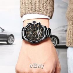 Superbe Montre Automatique de Luxe Tourbillon Top Marque homme men watch PROMO