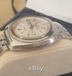 Superbe Montre Homme Seiko A Sonnerie Automatique Bell-matic 17 Jewels