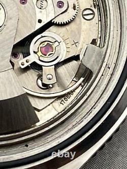 Superbe Montre Vintage Novel Skin Diver Acier Automatique AS1700