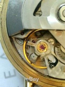 Superbe Rare montre Homme Emile Péquignet Chrono Automatique Golf Valjoux 7758
