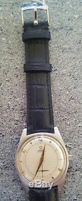 Superbe montre suisse omega type geneve bumper automatique cal 332