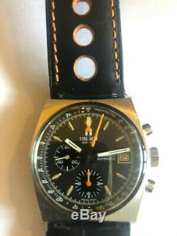 TISSOT Lobster Navigator automatique chronographe milieu 70s