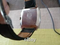 Tag Heuer Monaco CW2111 Automatique Chronographe Montre Homme Acier Inoxydable