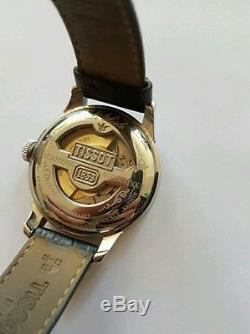 Tissot le locle 1853 automatique bracelet cuir