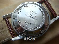 Très rare montre ancienne automatique CONSUL à réserve de marche (Mt Felsa 690)