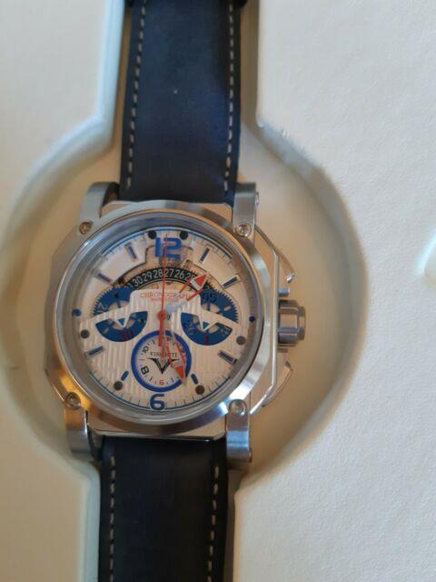 Visconti 2 Squared Chrono Speed Boat. Kw35-02. Montre Homme Automatique