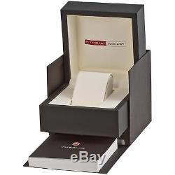 Victorinox Homme 43mm Bracelet Cuir Marron Saphire Automatique Montre 241448