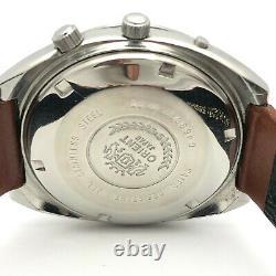 Vintage Homme Orient Calender 21Jewels Automatique 42mm Poignet Montre B4519