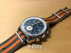 Vintage Montre Omega Seamaster Automatique Acier Date Chronographe Réf 176.007