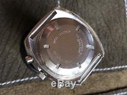Vintage Nivada Automatique Montre Homme Chronographe Tenor Dorly 1369 Suisse