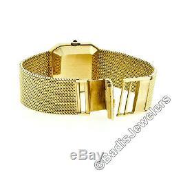 Vintage OMEGA de Ville 18K or Jaune Automatique Poignet Montre Bracelet Cal. 660