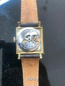 Vintage montre ZENITH Automatique non Omega, Jeager Lecoultre
