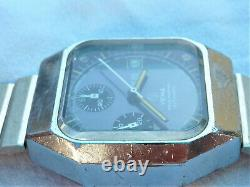 Yema Montre Chronographe Automatique Valjoux 7754 Vintage Watch Orologio Reloj