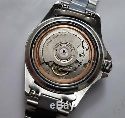 Yema Superman 2 Automatique Ref 410056 Mouvement Suisse Eta 2892 De 1990 C127p6
